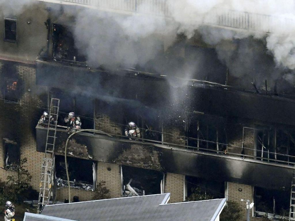 Jejak Kebakaran Kyoto Animation yang Tewaskan Puluhan Orang