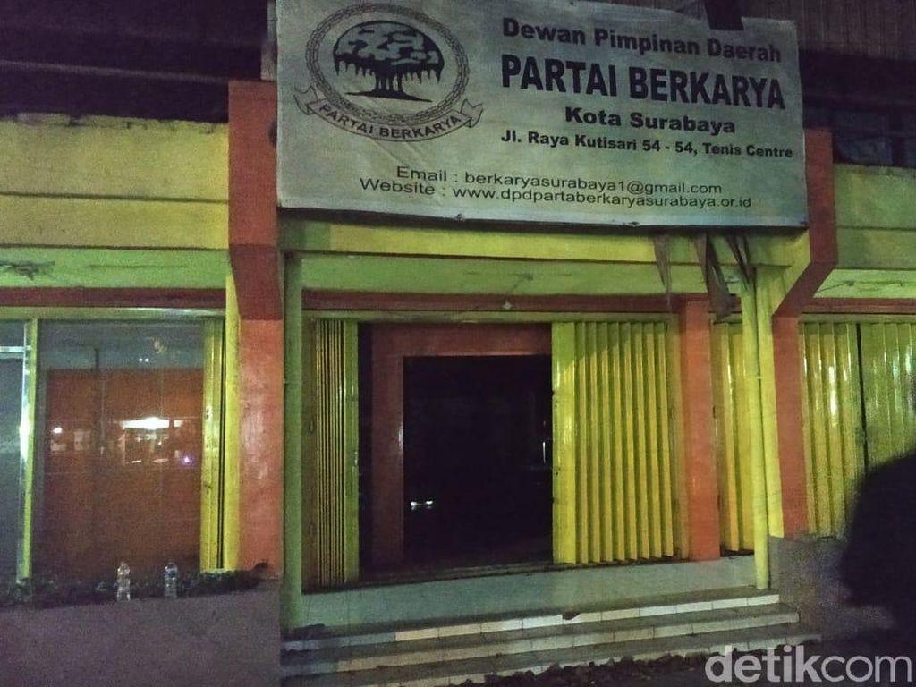 Kantor Dibobol Orang Dalam, Ini Kata Ketua DPD Berkarya Surabaya