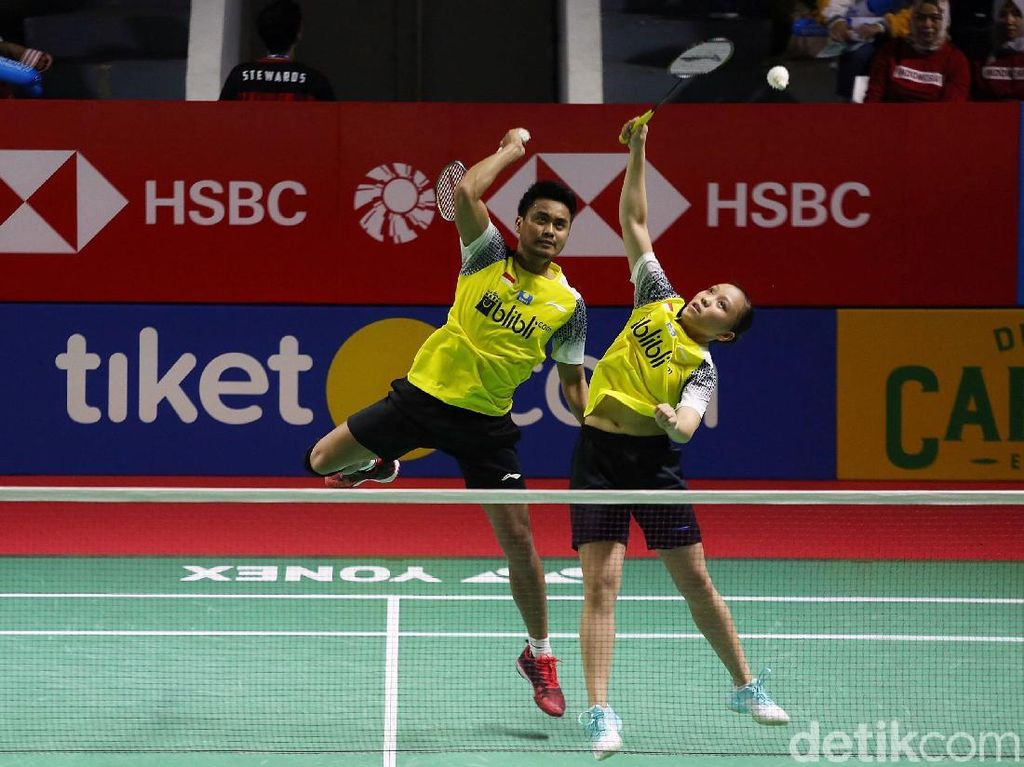 Tontowi/Winny Kalah, Ganda Campuran Indonesia Tak Bersisa di Semifinal