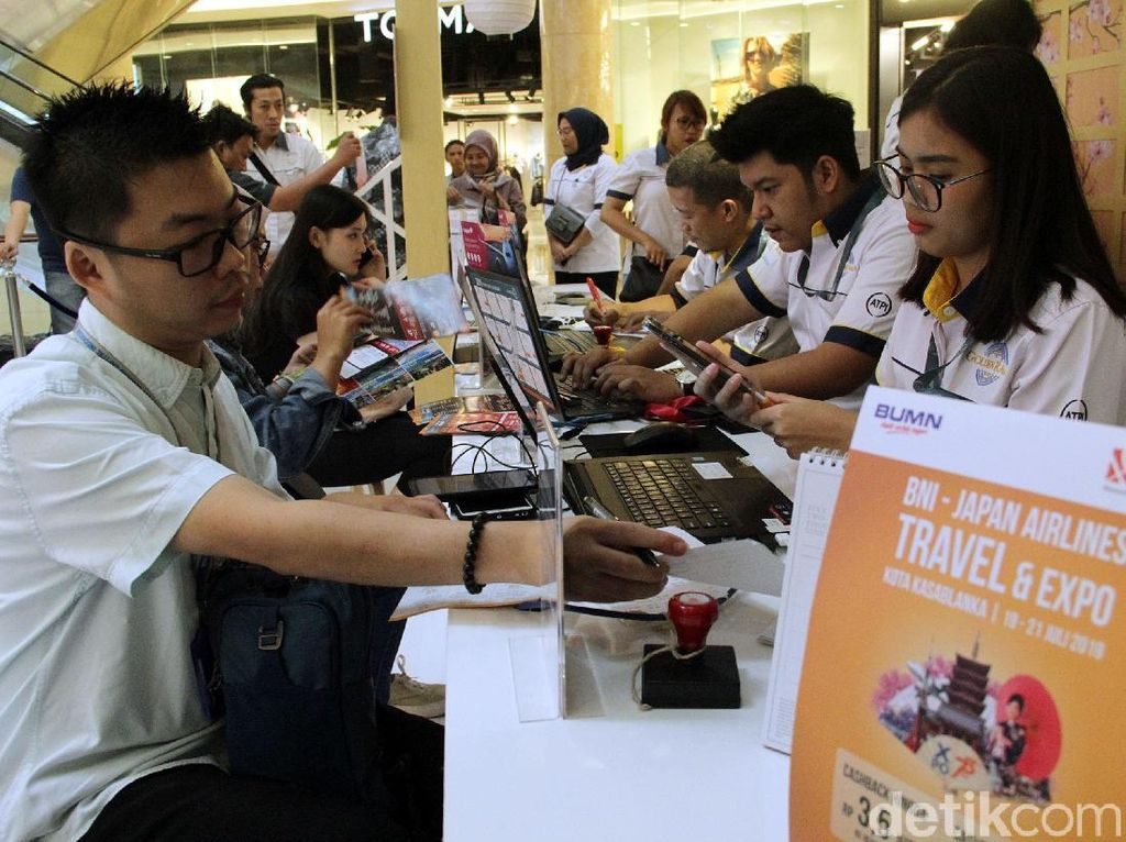 Berburu Tiket Murah di BNI-JAL Travel Fair 2019