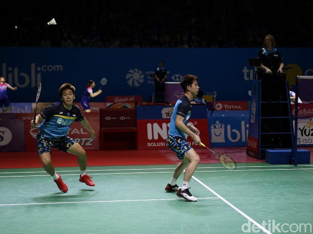 Kevin/Marcus ke Semifinal Indonesia Open, Fajar/Rian Tersingkir