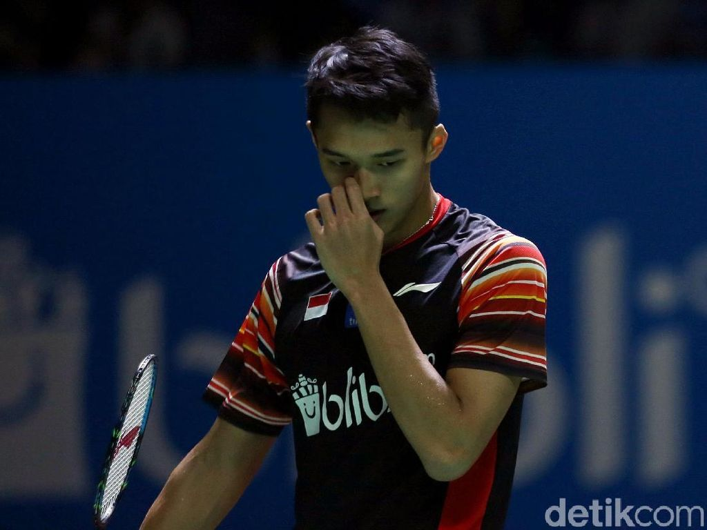 Jonatan Christie Kalah di Final Japan Open 2019