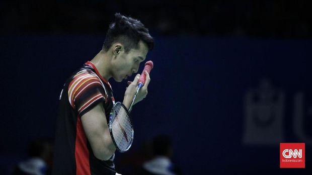 Hasil Korea Open 2019: Jonatan Gagal ke Semifinal