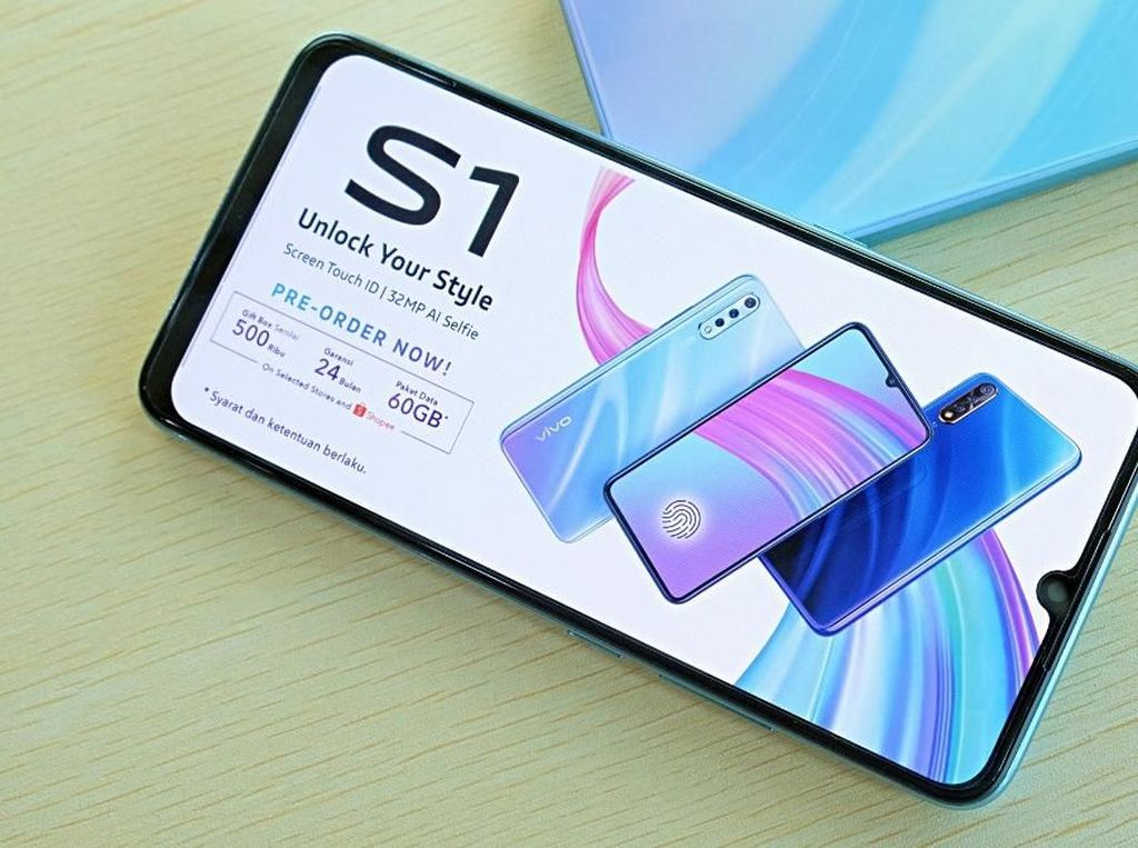 Smartphone vivo S1 Dukung Gaya Hidup Gen-Z