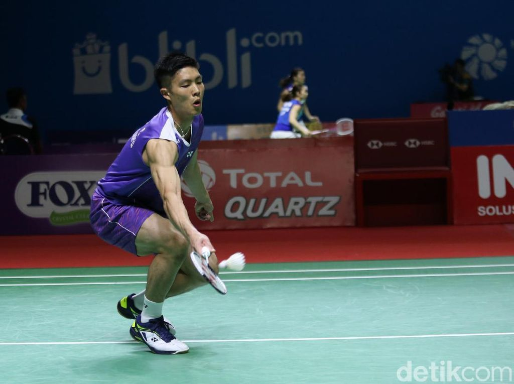 Kandaskan Wakil Denmark, Chou Tien Chen Juara Tunggal Putra Indonesia Open