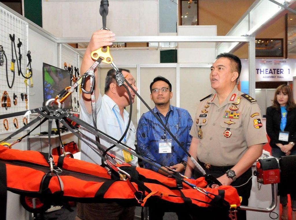 Intip Kecanggihan Teknologi Keamanan di Indo Security 2019