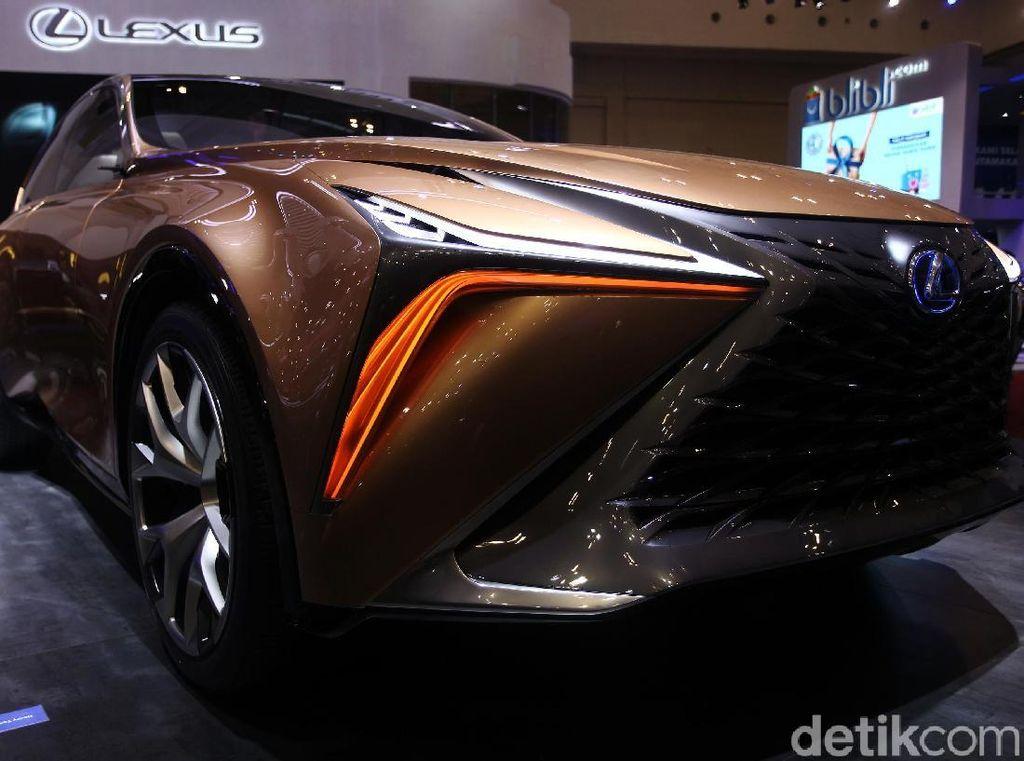 Kerennya Mobil Konsep Lexus