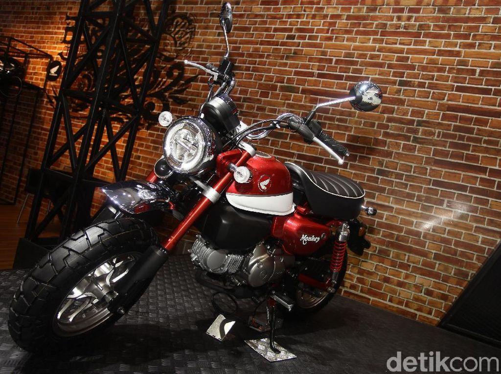 Honda Luncurkan Motor Imut Monkey, Harga Rp 65 Juta!