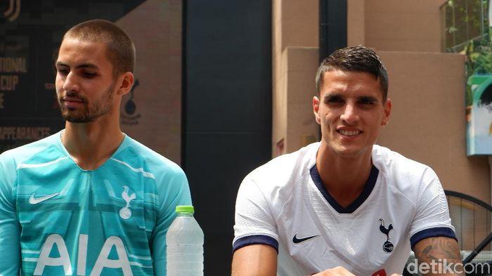 Sesi meet and greet Tottenham Hotspur dengan fans di Singapura. (Foto: Rifqi Ardita Widianto / detiksport)