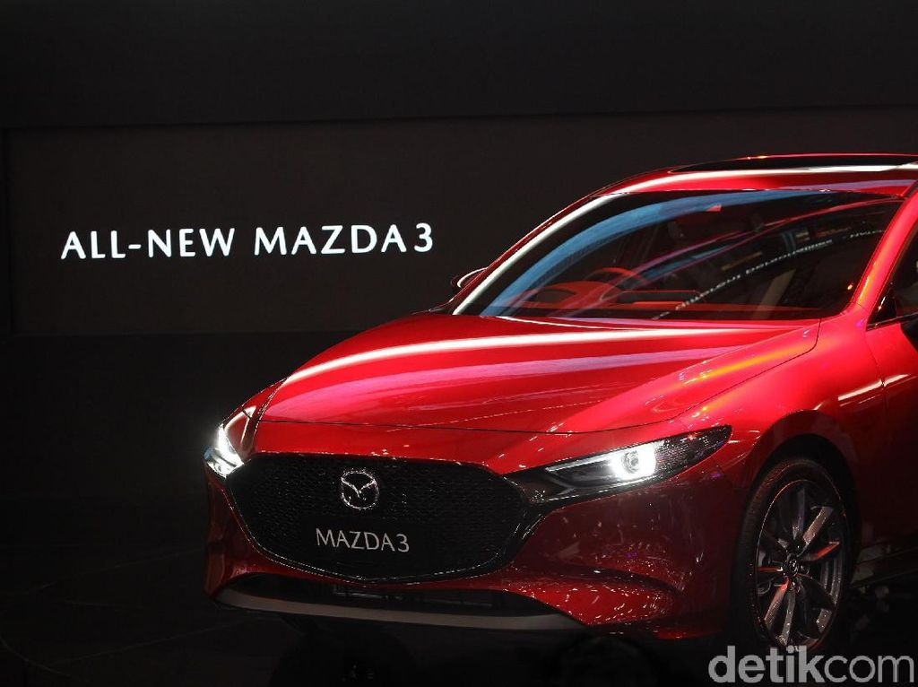 GIIAS 2019: Mazda3 Sedan dan Hatchback Sapa Indonesia