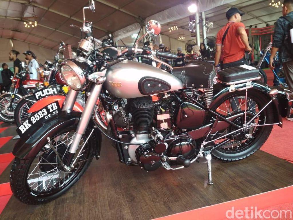 84 Motor Costum Adu Ganteng di Medan