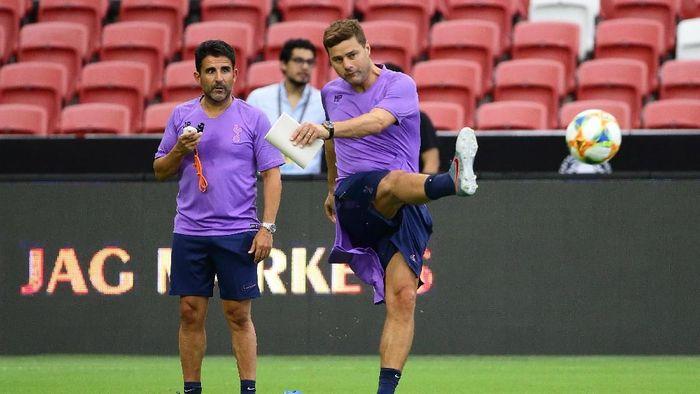 Mauricio Pochettino bakal pergi andaikan Tottenham Hotspur juara Liga Champions kemarin (Suhaimi Abdullah/International Champions Cup/Getty Images)