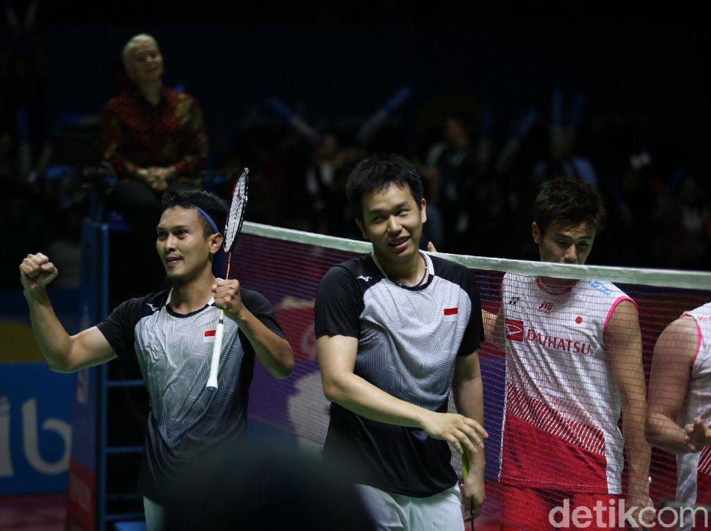 Hendra/Ahsan Tembus Final Indonesia Open