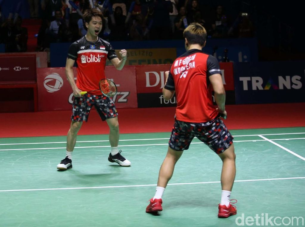 Duel Minions dan The Daddies Jadi Magnet Final Indonesia Open 2019