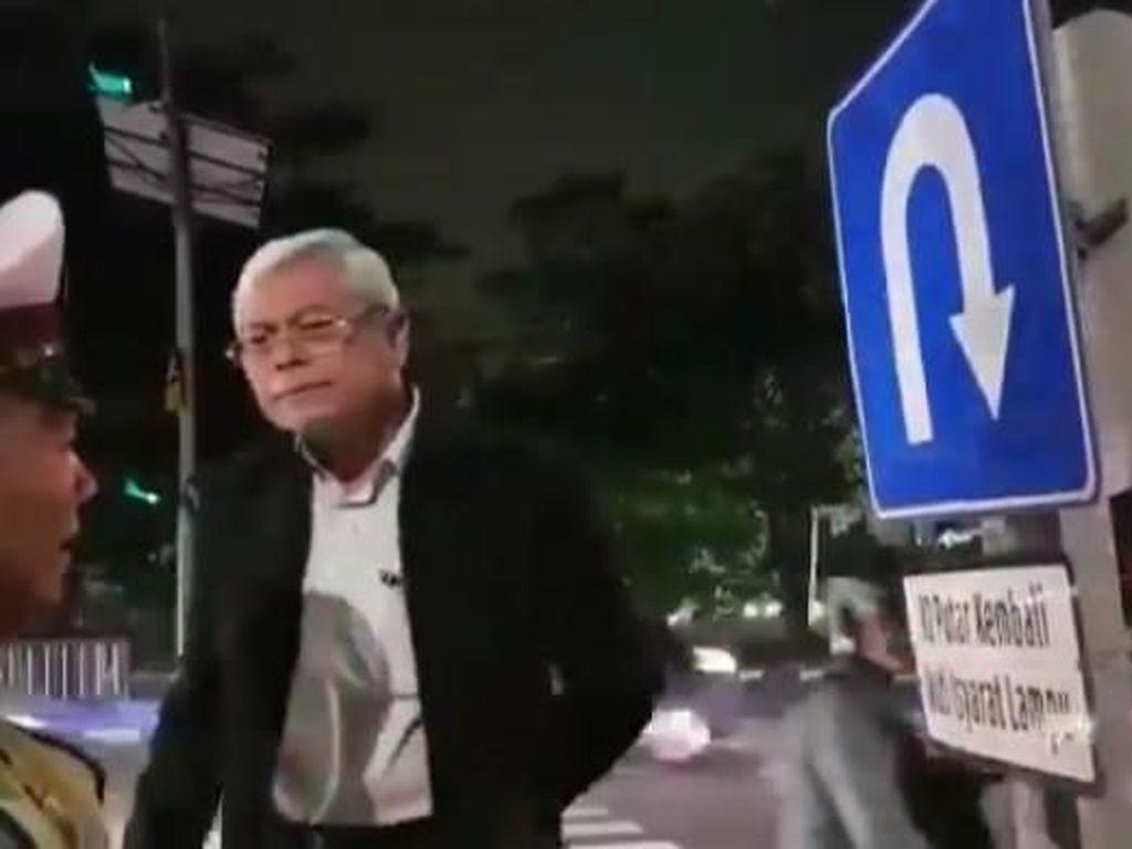 Profesor yang Ceramahi Polantas Surabaya Akui Saat Itu Sempat Emosi