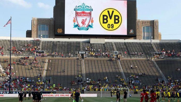Pertemuan Liverpool dan Dortmund berlangsung di Notre Dame University Stadium, Sabtu (20/7/2019) pagi WIB. (Foto: Trevor Ruszkowski/Reuters)