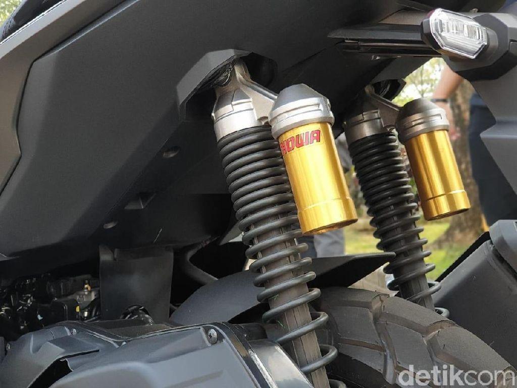 Skutik ADV 150 Pakai Shock Tabung, Mirip Honda Tiger
