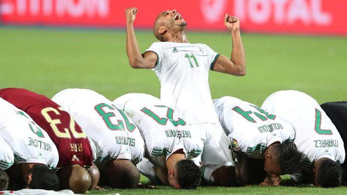 Aljazair juara Piala Afrika 2019. (Foto: Suhaib Salem/Reuters)