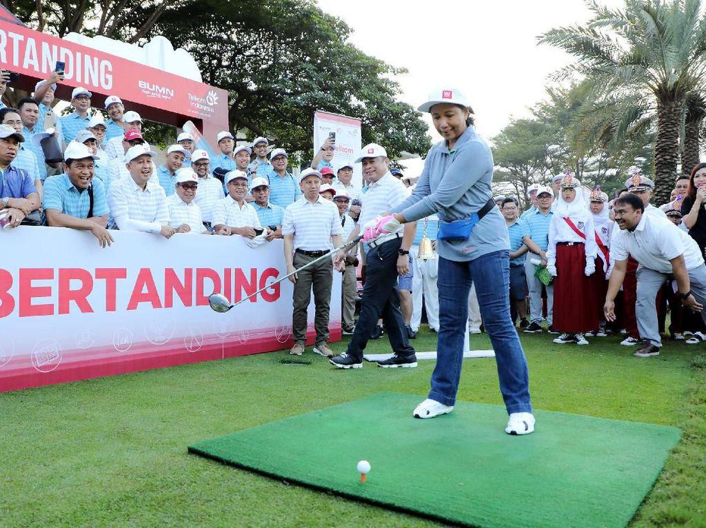 Turnamen Golf untuk Pendidikan Indonesia