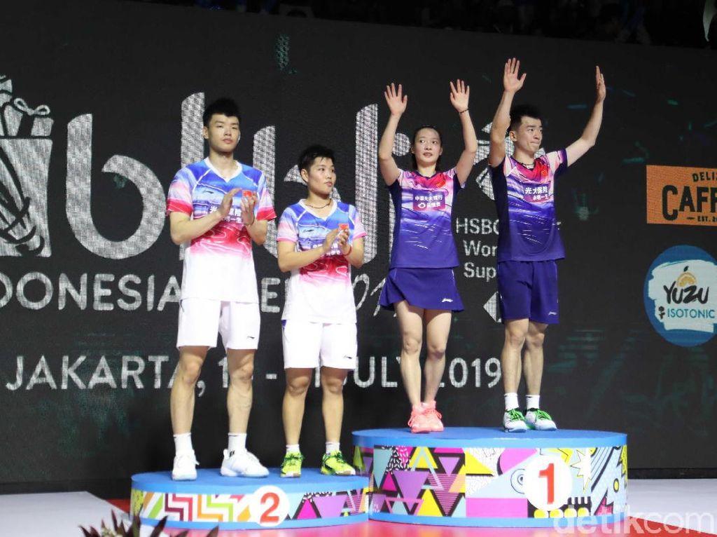 Tanpa Tontowi/Liliyana Lapangkan China Juara Ganda Campuran Indonesia Open Lagi