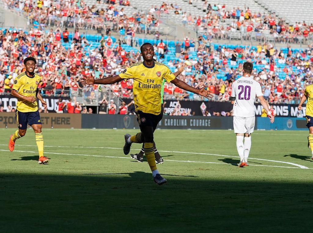 Hasil International Champions Cup: Arsenal Taklukkan Fiorentina 3-0