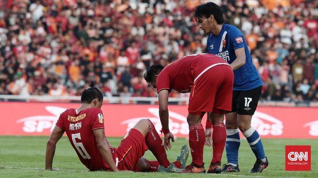 Persija menang 1-0 atas PSM pada leg pertama final Piala Indonesia 2019.