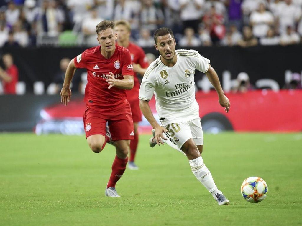 Debut dengan Madrid, Hazard Kok Pakai Nomor 50?