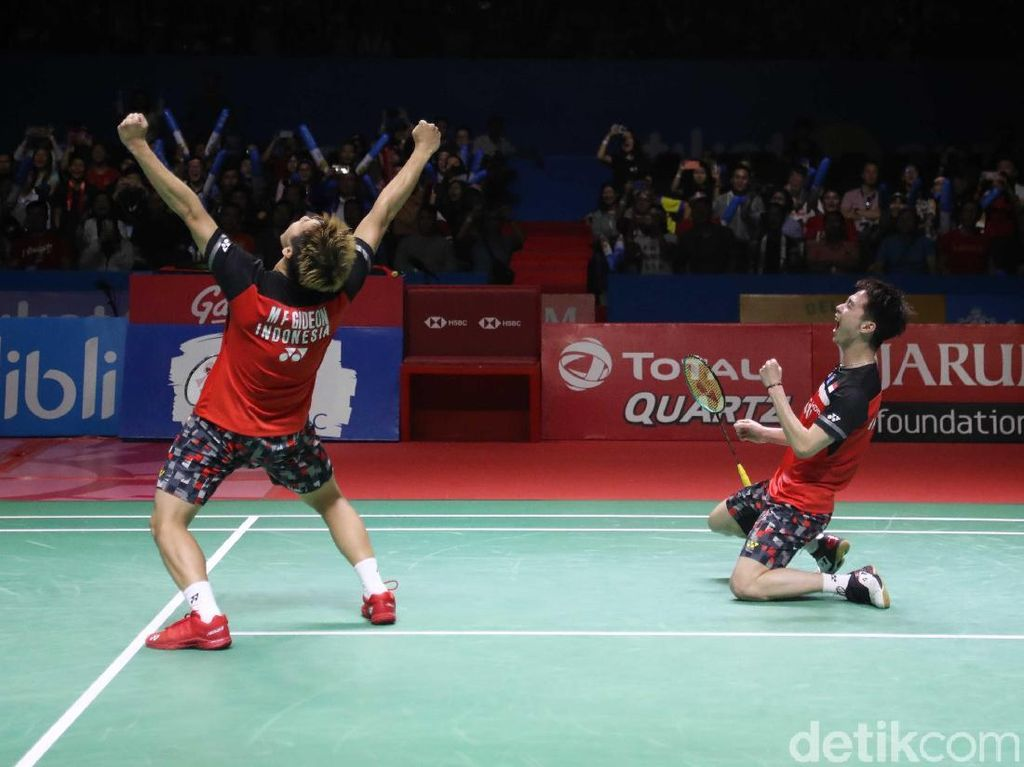 Video: The Minions Taklukkan Hendra/Ahsan di Final Indonesia Open