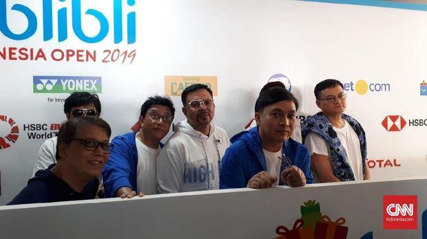 Kahitna bangga jadi pengisi acara penutupan Indonesia Open 2019.