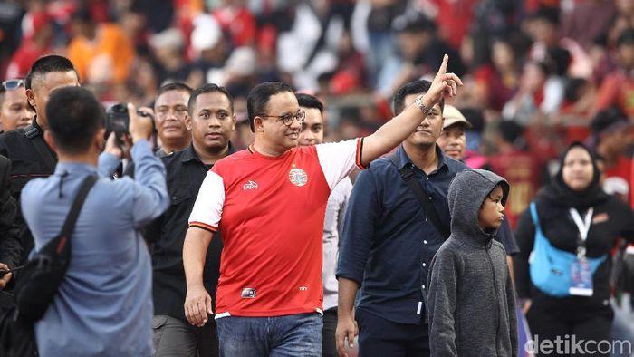 Gubernur DKI Jakarta Anies Baswedan akan hadir di laga PSM Makassar vs Persija Jakarta. (Foto: Rifkianto Nugroho/detikcom)