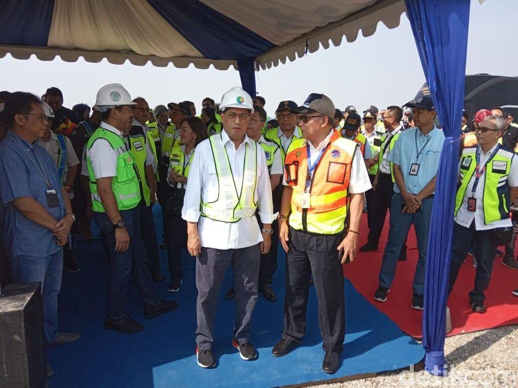 Menhub Cek Keberangkatan Haji di Bandara Soetta