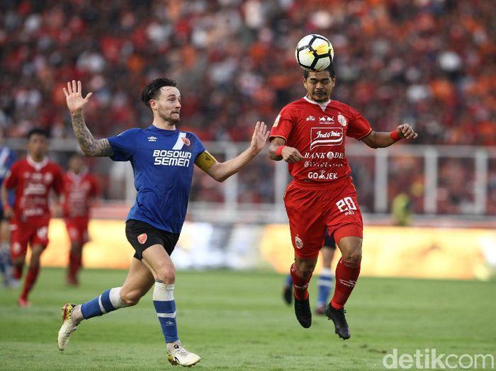 PSM Makassar takluk 0-1 dari Persija Jakarta di leg I final Piala Indonesia. (Foto: Rifkianto Nugroho/detikcom)