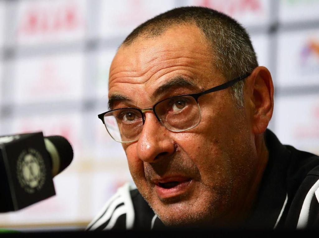 Sarri: Juventus Harus Belajar Bertahan Tak Terlalu Dalam