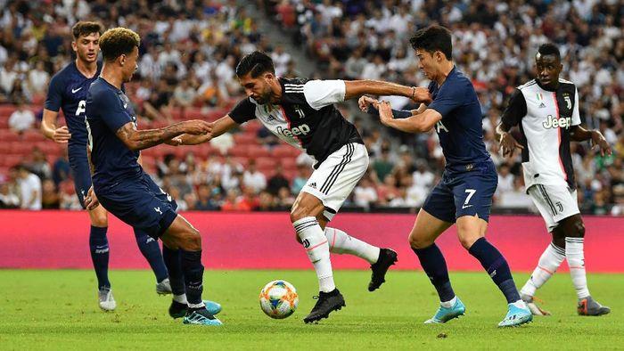 Juventus tertinggal 0-1 dari Tottenham Hotspur. (Foto: Thananuwat Srirasant/Getty Images)