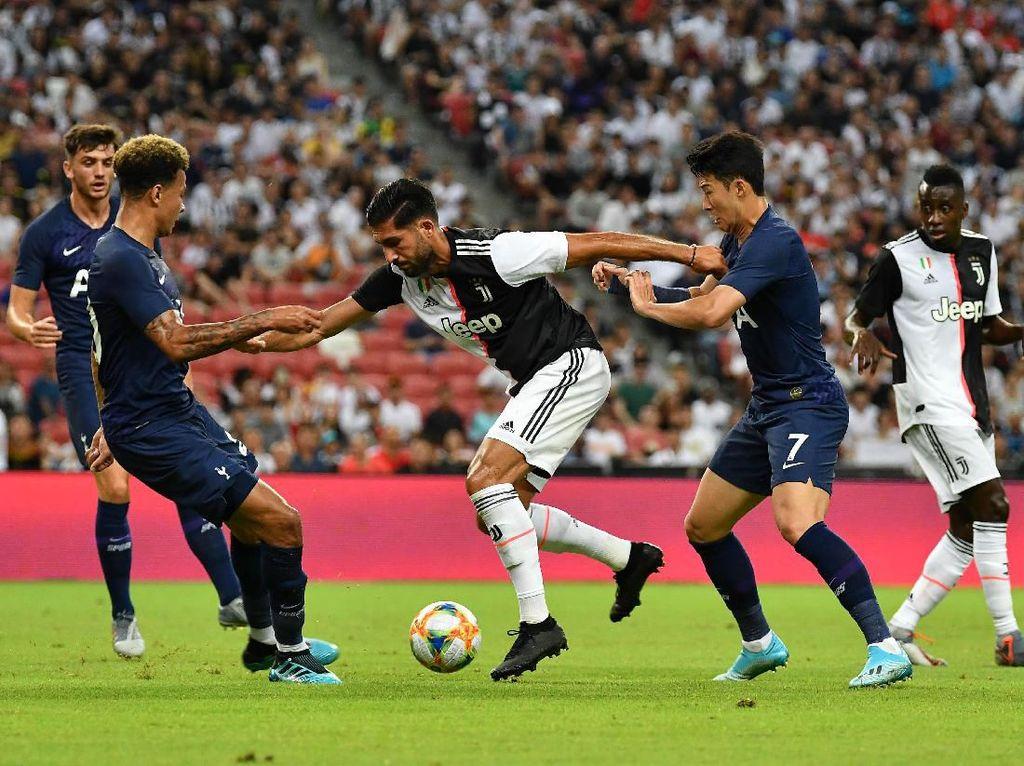 Juventus Vs Tottenham: Si Nyonya Tua Tertinggal di Babak Pertama