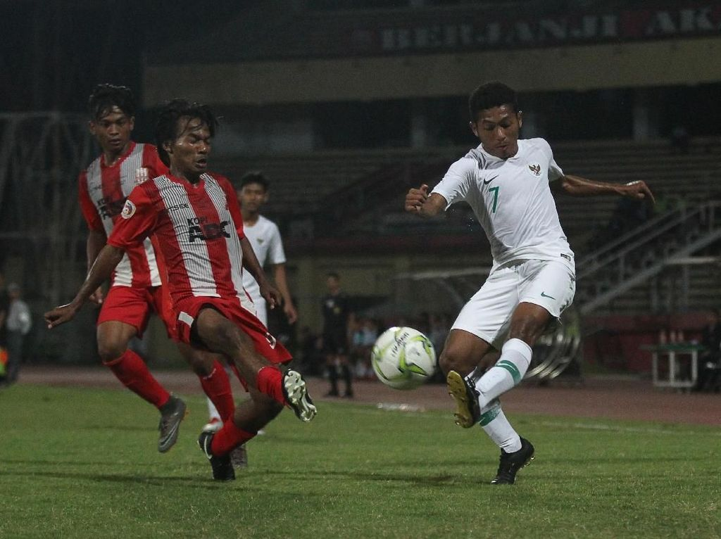 Laga Ujicoba: Timnas U-19 Kalahkan Deltras 1-0