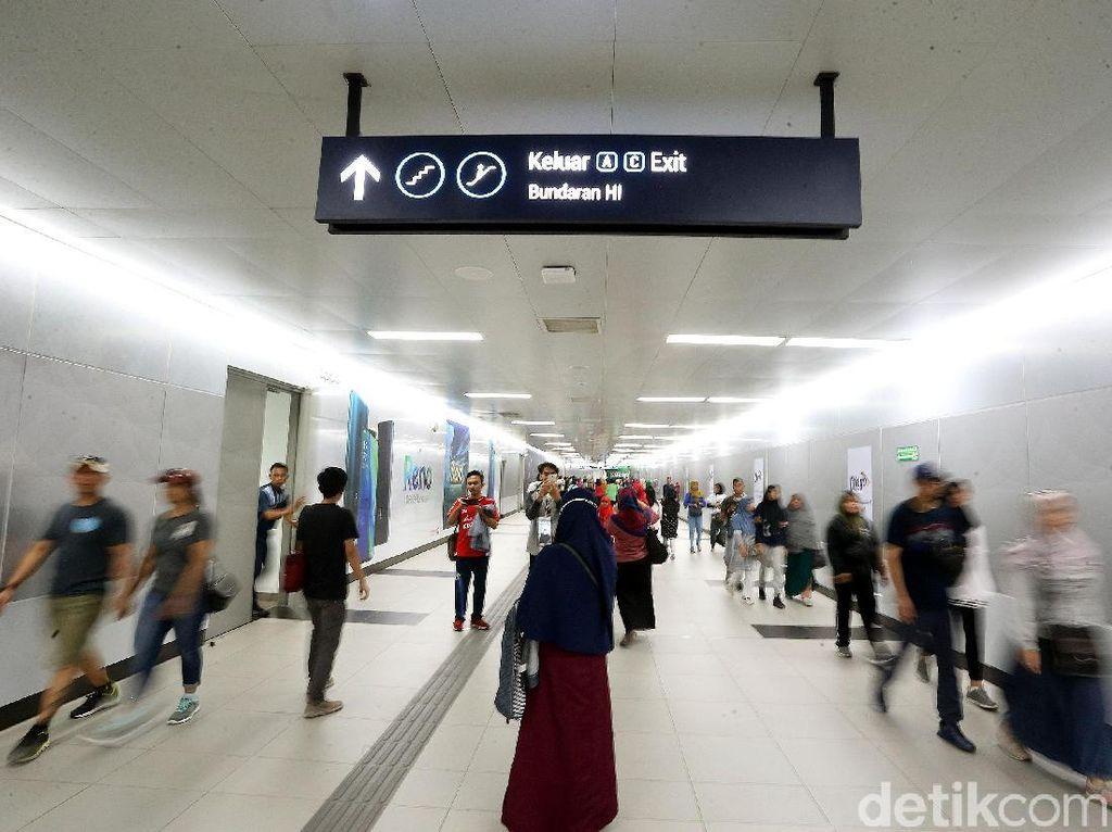 Pemprov DKI Anjurkan Warga Naik MRT ke Jakarta Muharram Festival