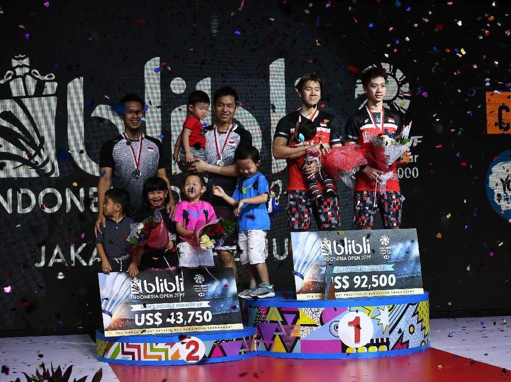 Latihan Spesial Ganda Putra untuk Kejuaraan Dunia Bulutangkis