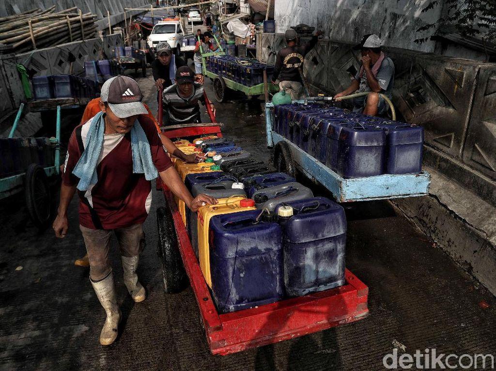 Pak Anies! Air Bersih untuk Warga Jakarta Kian Genting
