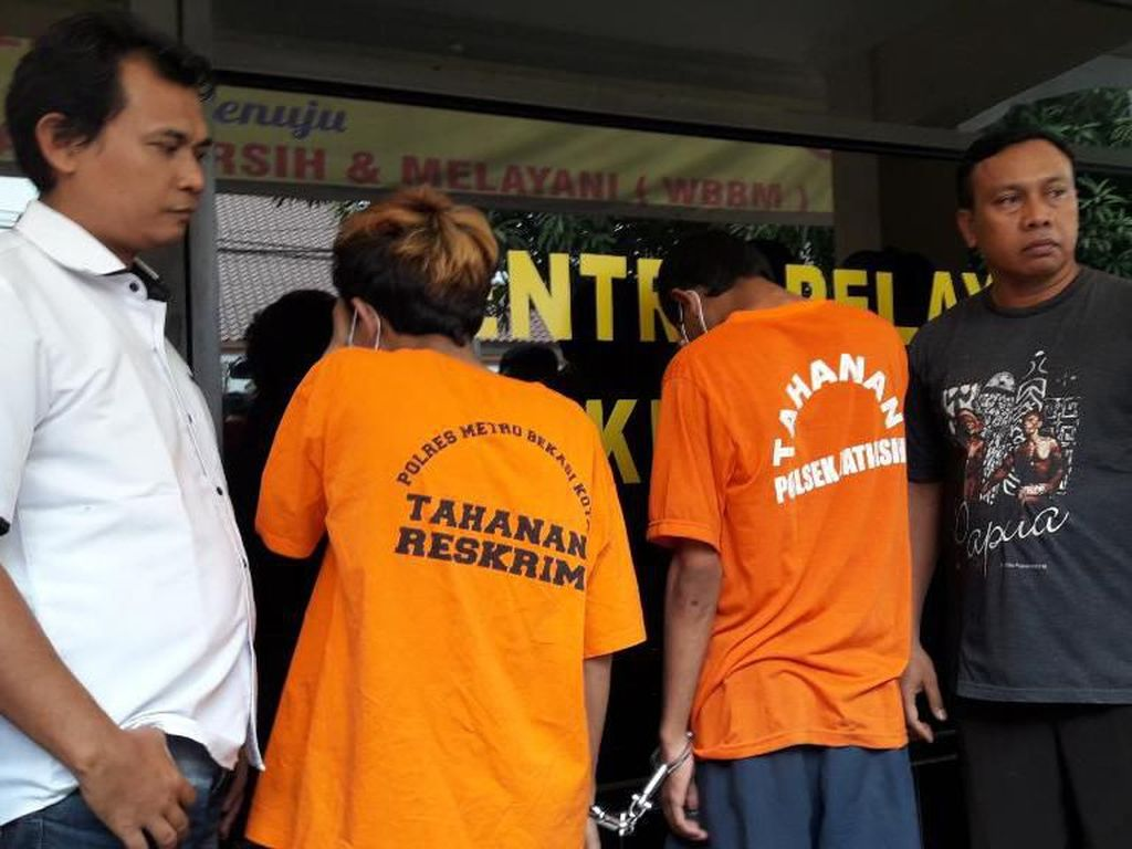 Penjambret yang Bikin Emak-emak Jatuh Terseret di Bekasi Ditangkap Polisi