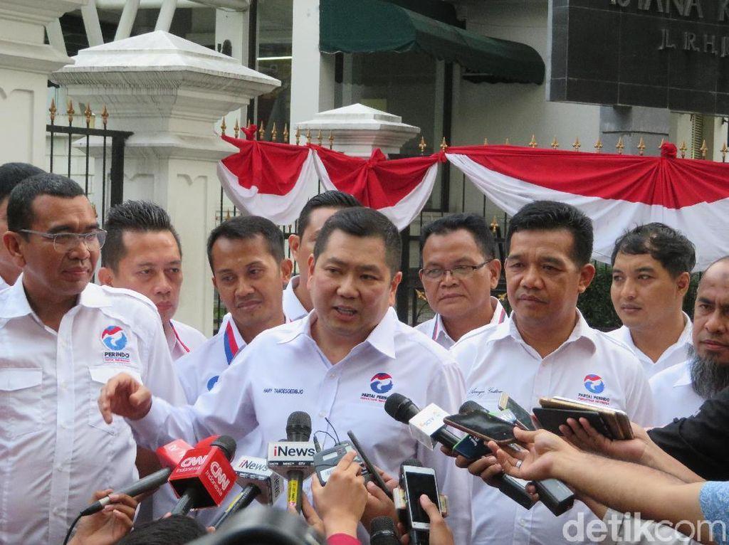 Temui Jokowi di Bogor, Perindo Tegaskan Ikut Terlibat Ambil Kebijakan