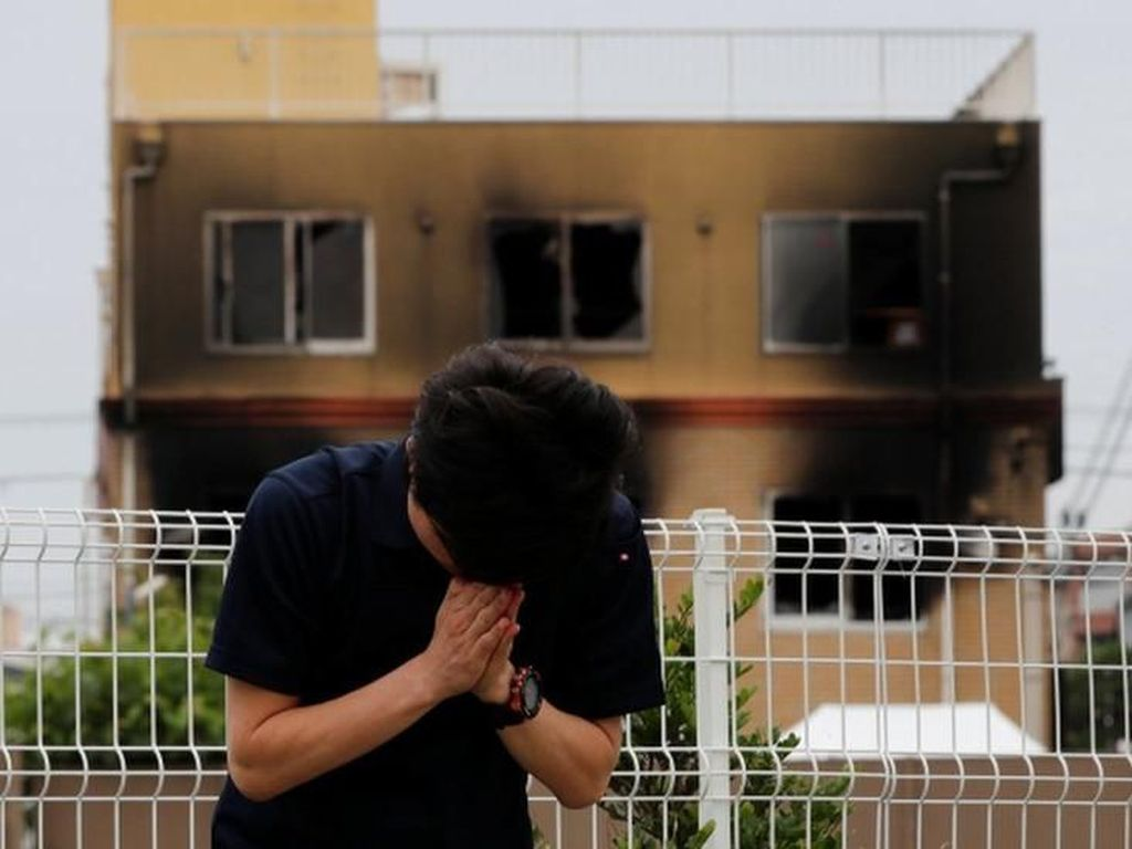 Kyoto Animation Dibakar, Polisi Jepang Tetapkan Tersangka Pembakaran
