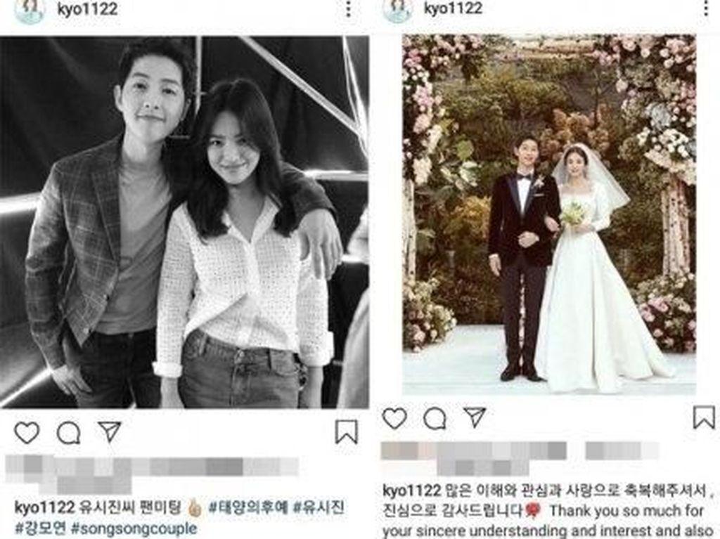 Resmi Cerai, Song Joong Ki Lenyap dari Instagram Song Hye Kyo