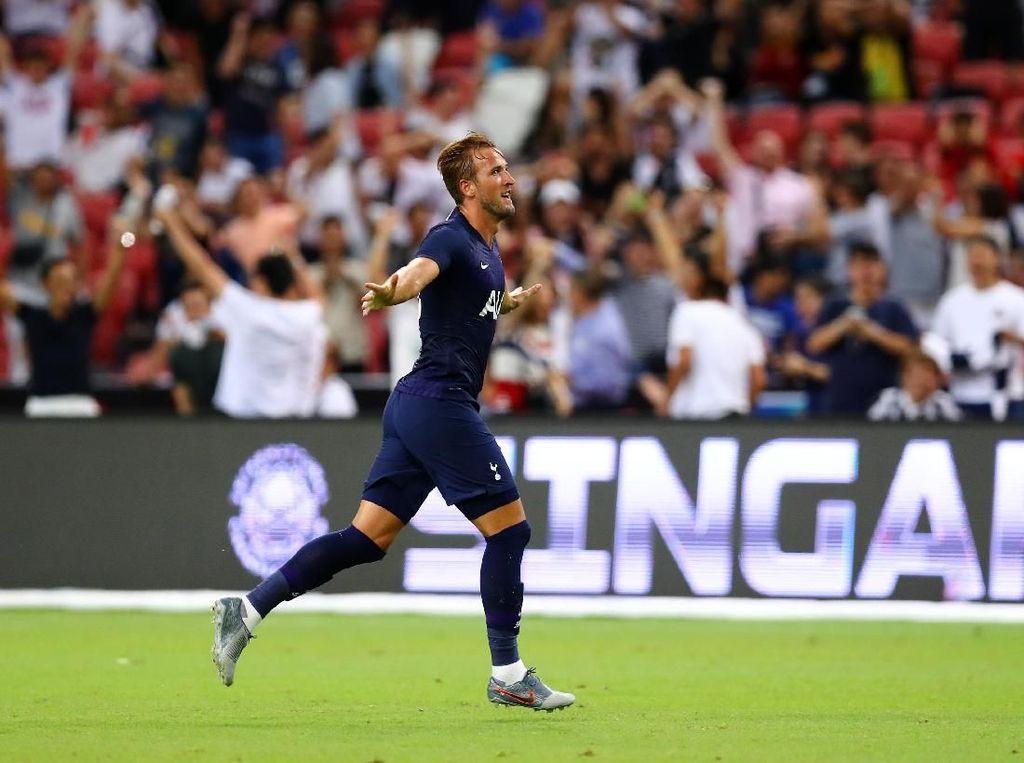 Harry Kane Puas Betul Jebol Gawang Juventus dari Tengah Lapangan