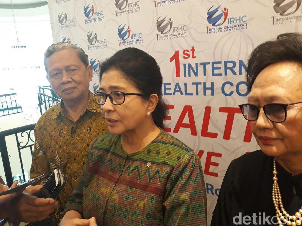Banyak Menteri Lama Akan Dipertahankan Jokowi, Ini Kata Menkes Nila