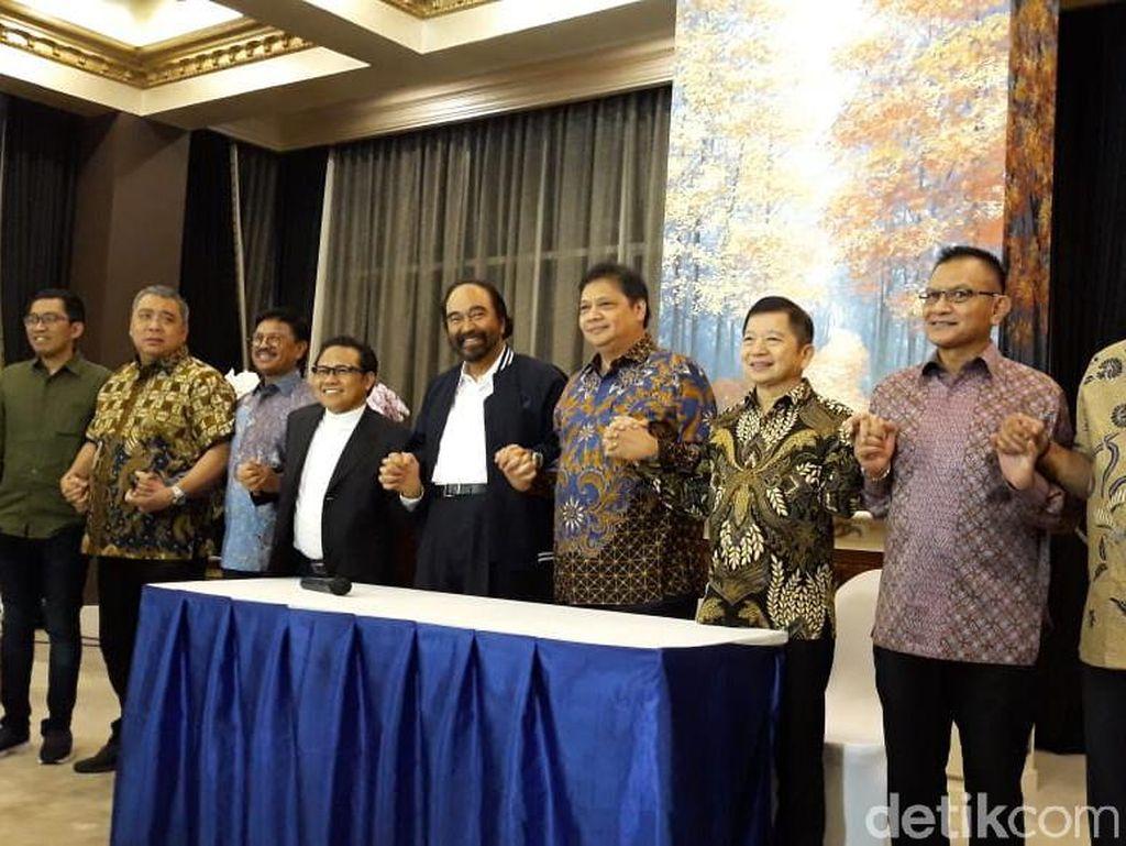 Cak Imin Tegaskan Koalisi Jokowi Solid: Jangan Saya dan PPP Diadu-adu