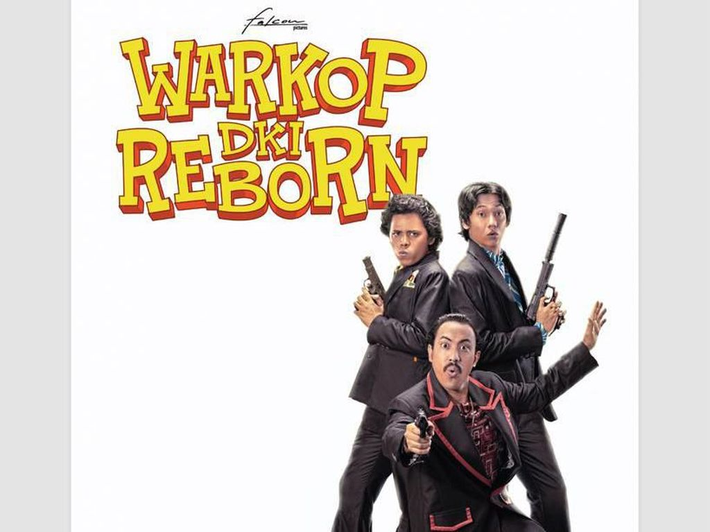Warkop DKI Reborn Akan Jual Tiket Bioskop Rp 5000 se-Indonesia