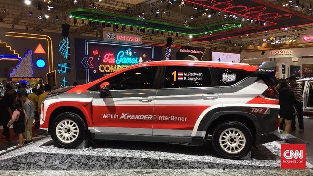 Mitsubishi Xpander 4WD Tantang Reli Dunia