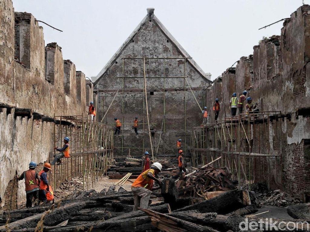 Sempat Dilalap Api, Museum Bahari Kini Dikonservasi