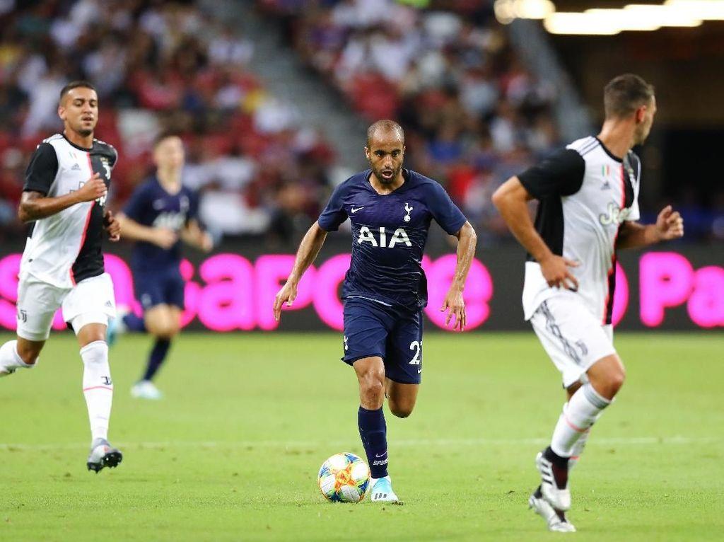 Lucas Moura Kaget Banget dengan Atmosfer di Laga Lawan Juventus